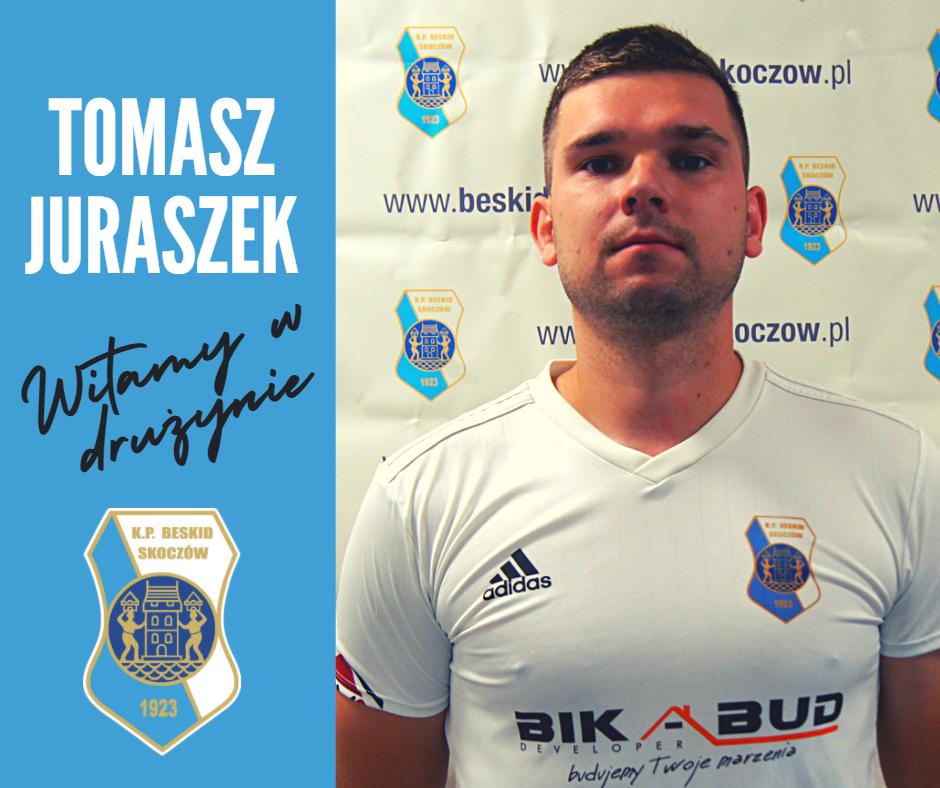 Tomasz Jurarszek zawodnikiem Beskidu!